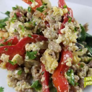 keto breakfast scramble hardy foods