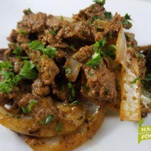 Diced Beef Fajita