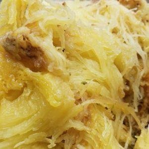 spaghetti squash keto meal prep salt lake